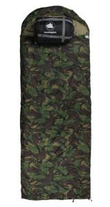 bw-schlafsack-10T Huntington-Halbmond-Kopfteil-220x80cm-Camouflage