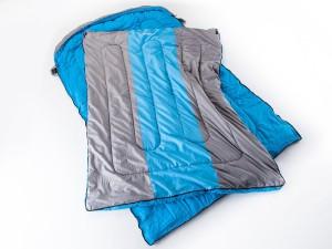 schlafsack für zwei-skandika orkney deckenschlafsack XXL-blau-silber