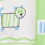 schlafsack mit beinen-Babies & Kids-Öko-Schlafoverall-Safari-grün-Baumwollplüsch-löwe