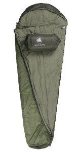 bw-schlafsack-10T Arctic Spring-Mumien-230x85cm-grün-hellgrün 1700g