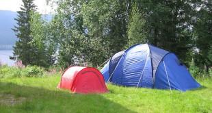 schlafsack für zwei-zelt rot-zelt blau-natur pur
